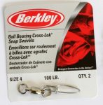 Berkley Mc Mahon BB with snaps Swivel 2 nickeled