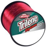 Berkley Trilene Big Game 20LB 0.38MM 600M piros