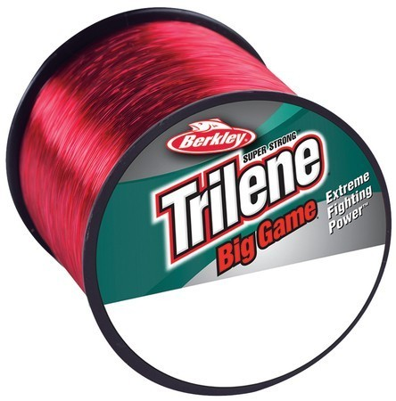 Berkley Trilene Big Game 30LB 0.48MM 600M piros