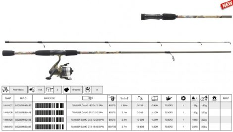 Mitchell tanager camo 182 5-15 g spin