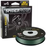Spiderwire Dura 4x 1800m 0.10mm/9.1kg-20lb moss green