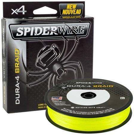 Spiderwire Dura 4x 150m 0.25mm/23.2kg-51lb yellow
